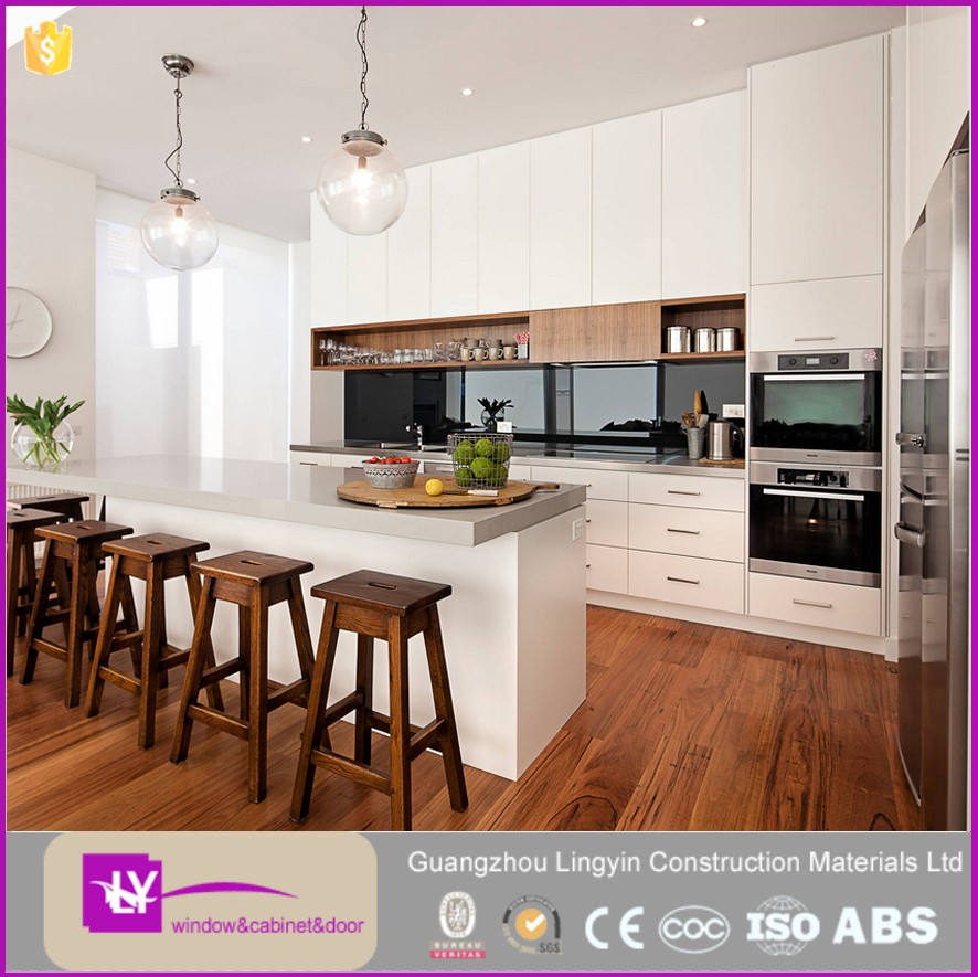 2017 Kitchen Design Idea High Gloss Modern Kitchen Anti