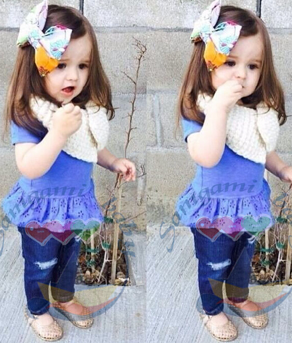 Cheap Cute Baby Outfits Baby Girl Suits Infant Baby Clothing Kids ...
