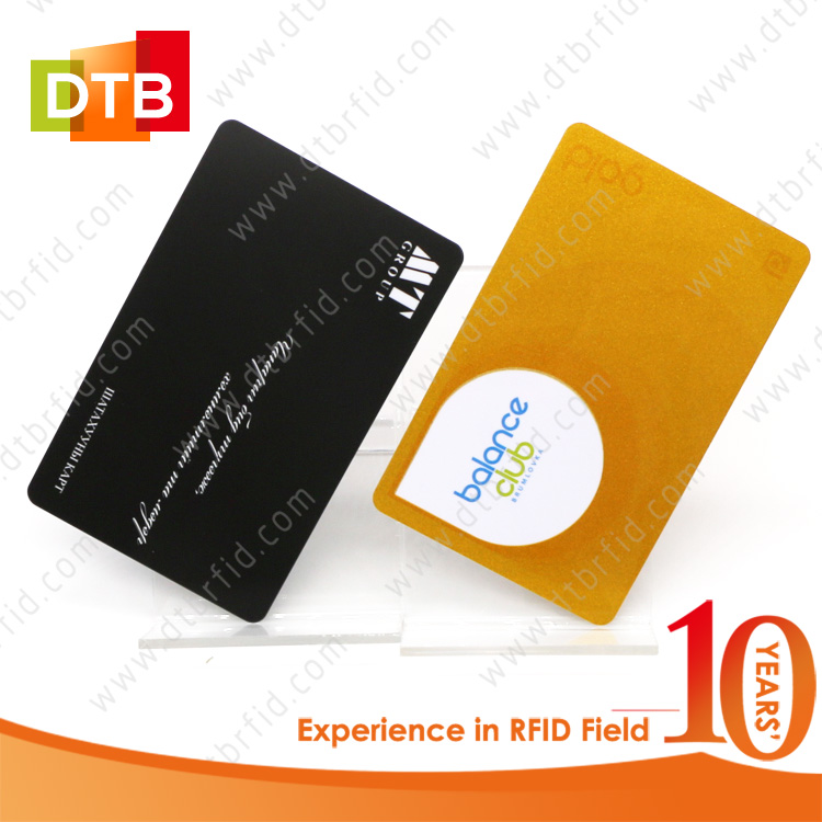 DTB Shenzhen Factory Durable Custom Printing Small NTAG215 Card