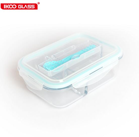 homeware kitchen appliance microwave safe glass food easy lock food container