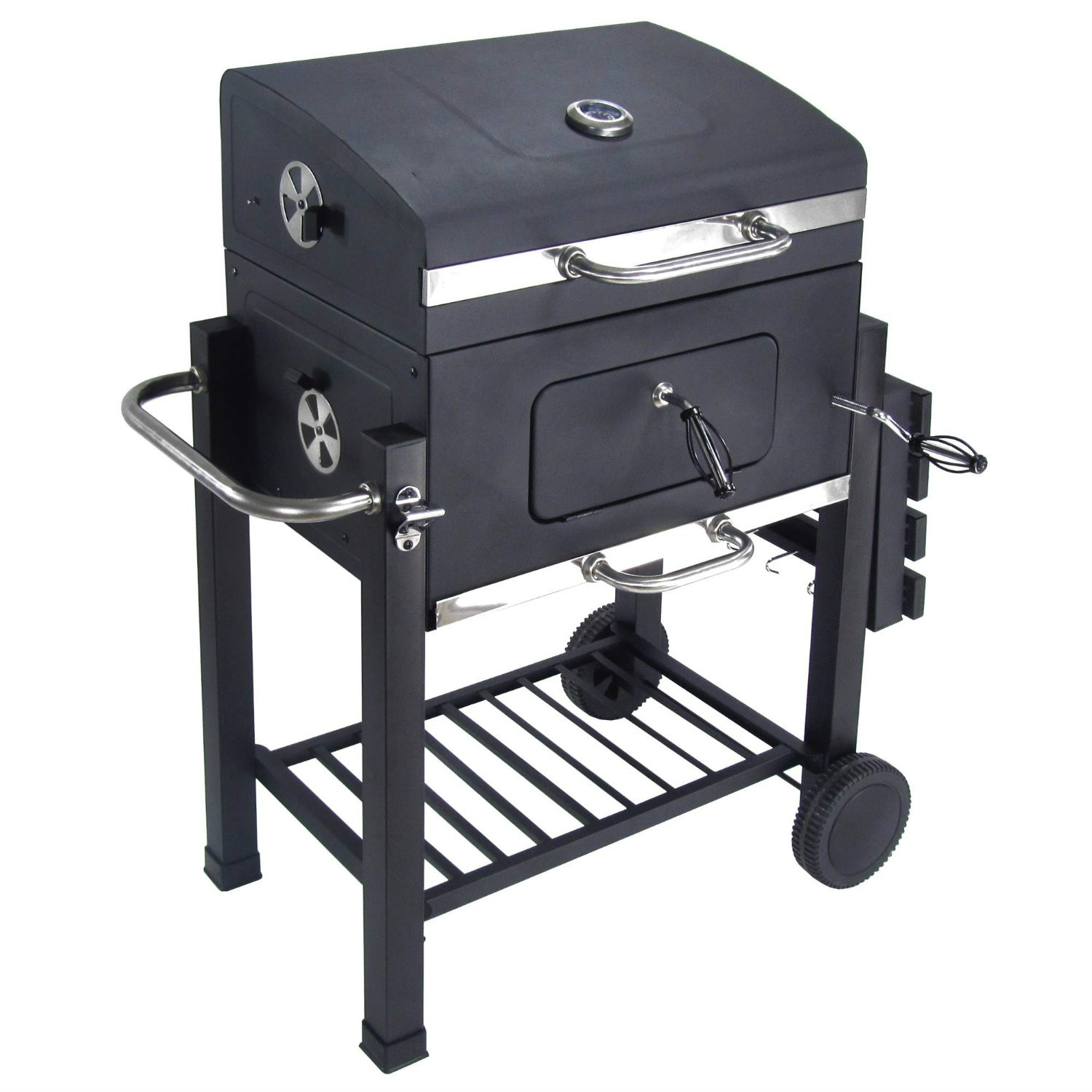 Extra Large Heavy Duty A Carbone BARBECUE Somker Grill All'aperto Per Barbecue