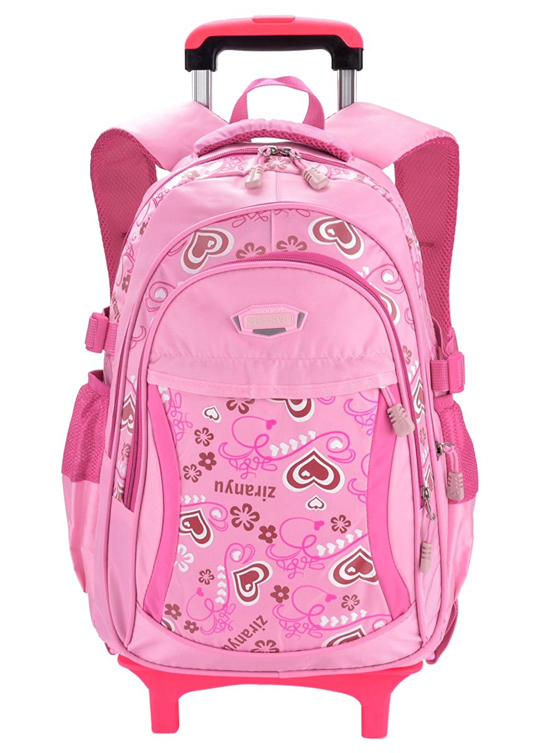 8e4f1baed0ae Buy COOFIT Rolling Backpack Cute School Backpack Kids Backpack With ...