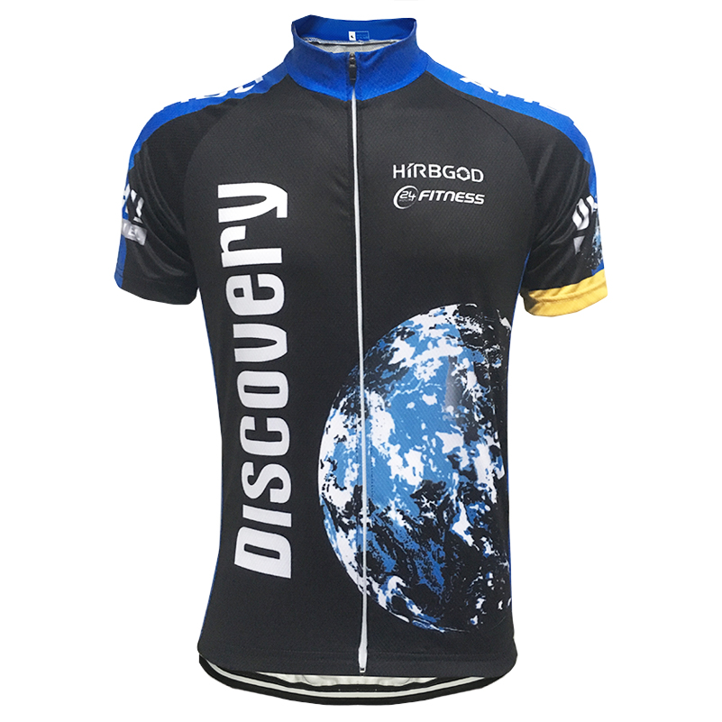 Discovery Channel Men/'s Cycling Jersey Top Short Sleeve Bike Cycle Jersey Shirts