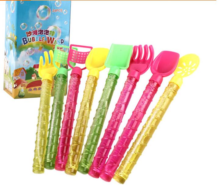 24pcs 27cm bubble toy bubble wand bubble water toy sword ...