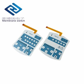 Custom Manufacture Waterproof Membrane Touch Keyboard PC Thin Film Switch