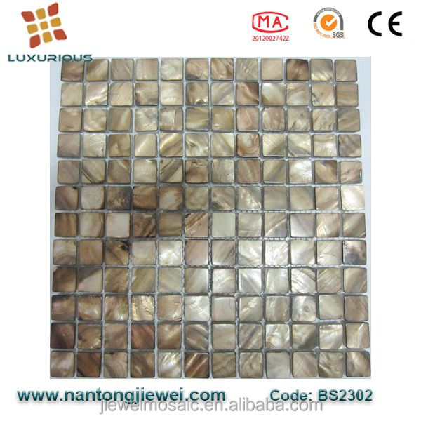 Factory Supply shell tiles mosaic mother of pearl
