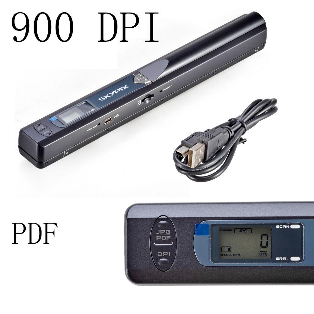 original skypix tsn415 scanner 900dpi handyscan portable scanner handy scanner wireless handheld. Black Bedroom Furniture Sets. Home Design Ideas