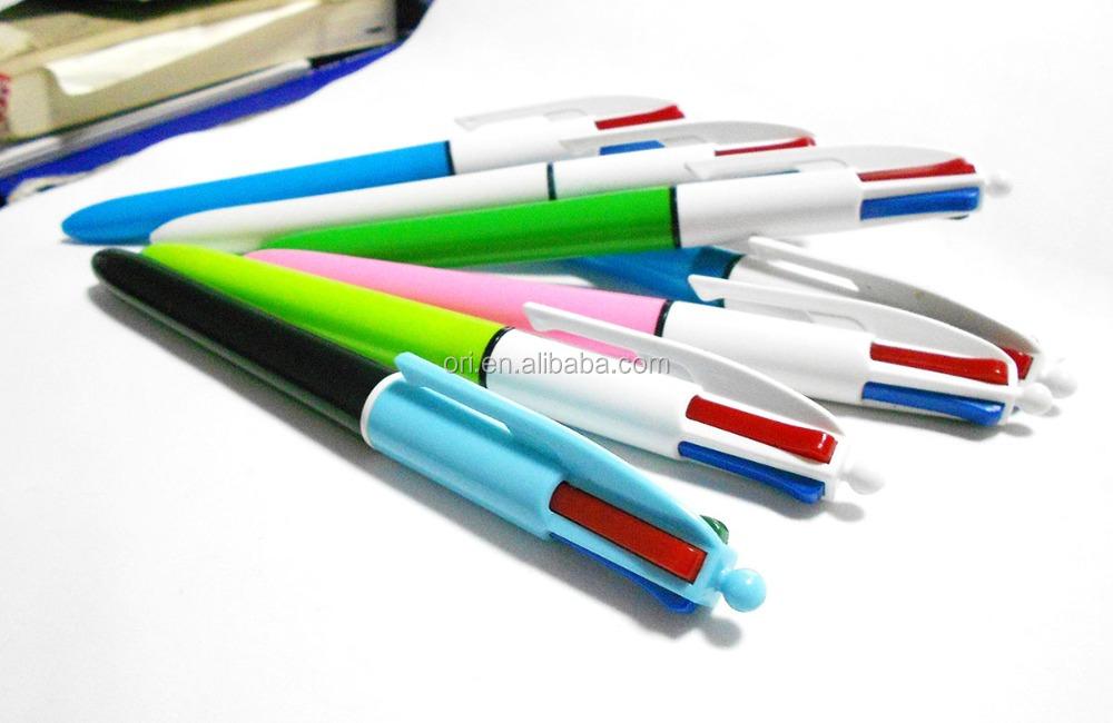 En plastique de couleur bic stylo bille 4 couleur stylo bille pas cher cliquez stylo - Porte stylo infirmiere pas cher ...
