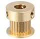Custom CNC Machining Brass Timing Pulley