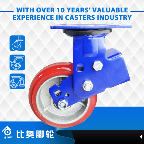2017 Factory price high quality retractable caster wheels for equipment