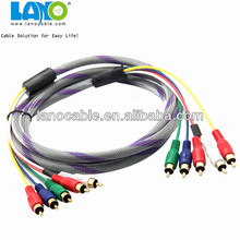 high quality colorful s video coaxial cable adapter with good quality