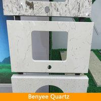 White& Black Quartz Countertops That Look Like Marble Work Top