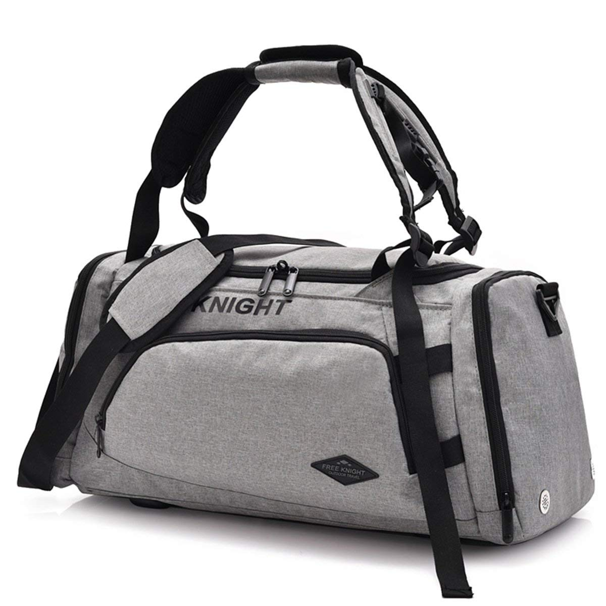 26e60090e2e844 Get Quotations · Sports Gym Bag with Shoes Compartment Travel Duffel Bag  for Men and Women