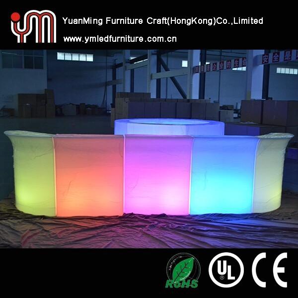 Hot sale led bar glow furniture glow furniture led for Design hotel glow