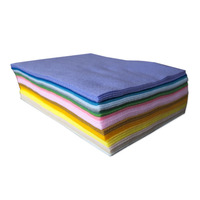 40 colors Polyester Cloth Felt Fabric