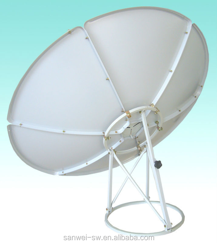 c band 120cm satellite dish