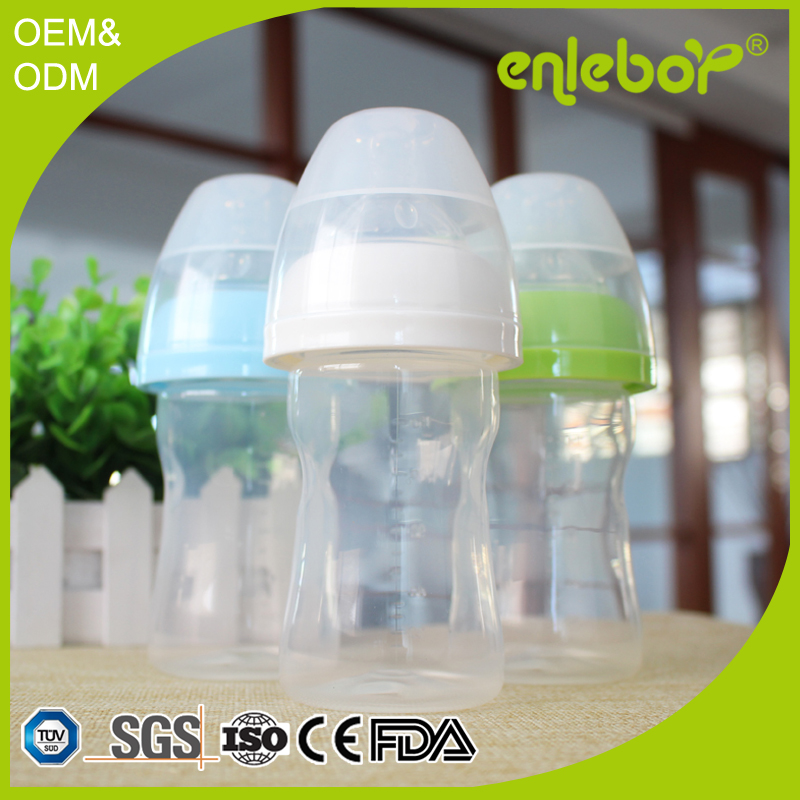 New Discount coloful non-toxic baby products, custom 150ml baby feeding bottle