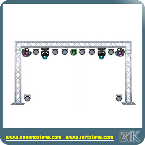 6082-T6 modular dj stand booth exhibition aluminum truss system