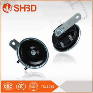 SHBD strong suction disk horn right angle lug 12v blister packing single auto horn