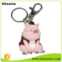 Wholesale Custom Promotional Gift High Quality 3D PVC Rubber KeyChain