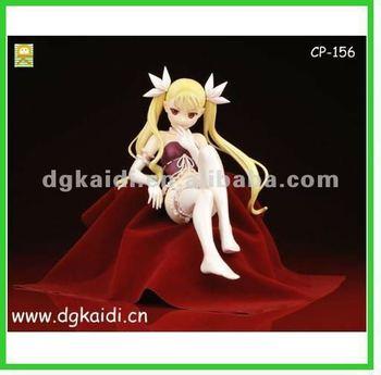Pvc giapponese figur giocattoli del sesso ragazza cartone animato