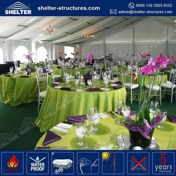 Durable And Long Life Span 200 People Pvc Waterproof Argos Party Tent Dubai Aluminum Roof Gazebo