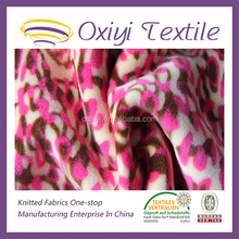super soft knitted printed fabric