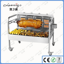 Portable commercial gas bbq grill / meat grill