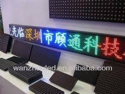 P10 Outdoor Waterproof Red LED display module best seller in China???advertising board p10 16*32 led module / size 160*320mm /le