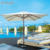 Mr.Dream white beach umbrella custom indian parasol