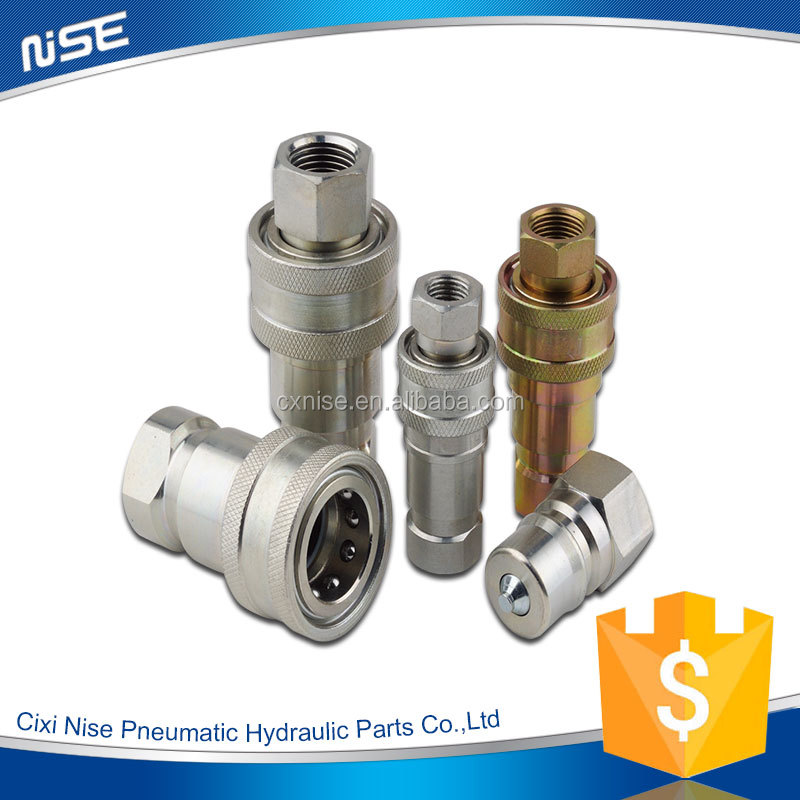 ISO7241-B Close Type Hydraulic Quick coupling,garden hose quick disconnect fittings