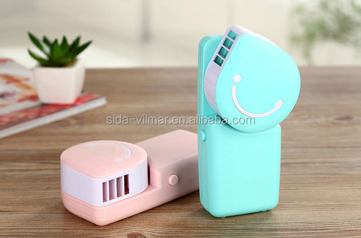 Rechargeable Portable Mini Fan electric Operated Mini handheld Fan in stock/battery operated mini fan
