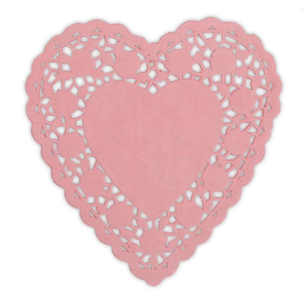 Wilton 2104-7126 12 Count 8.5 Mint Green Doilies /& Pink Doilies