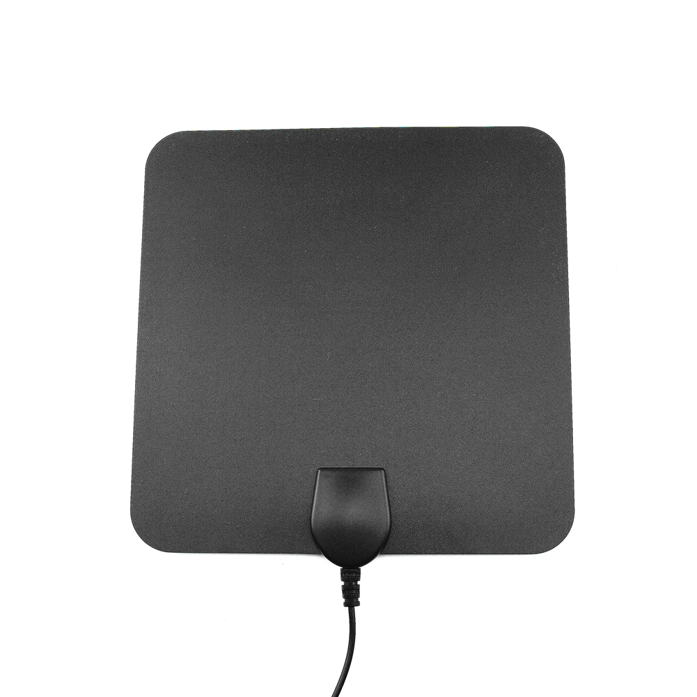 Pendoo Indoor HDTV Antenna 35 Miles Flat Digital TV Antenna with Detachable Signal Amplifier Booster Upgraded Version
