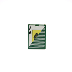 Customized top quality plastic/paper playing cards poker set poker cards