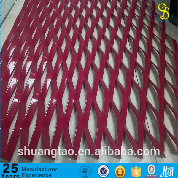 2016 new Electro galvanized expanded metal mesh for corridor work platforms