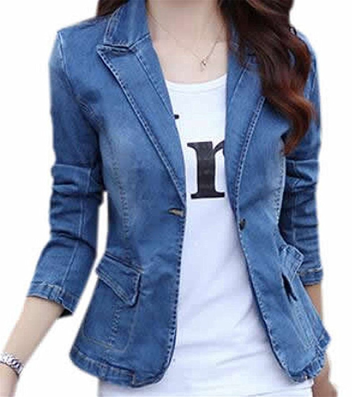 better exceptional range of styles hot-selling clearance Cheap Womens Denim Blazer, find Womens Denim Blazer deals on ...