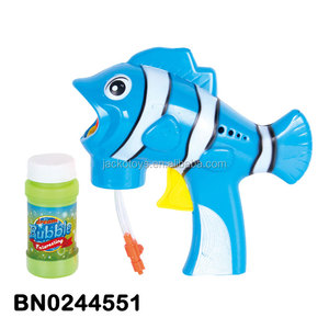 Friction Toy Water Bubble Gun Fish Shape Bubble Toy