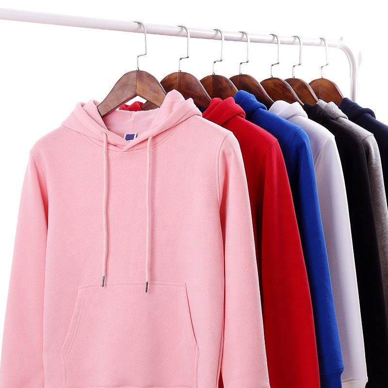 2019 men fashion plain thick pullover <strong>hoodies</strong> custom logo printed embroidered men <strong>hoodies</strong>