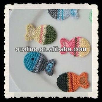 Crochet Patterns Handmade Crochet Little Fish Applique Buy