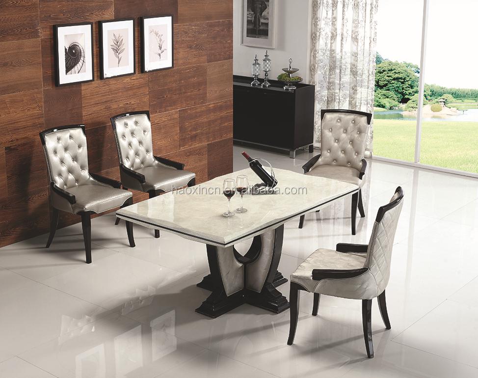 Mesa de comedor de m rmol con espa a dise o cl sico de for Comedor marmol 4 sillas