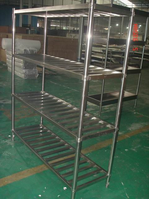 Restaurant Kitchen Metal Shelves restaurant stainless steel commercial tire rack/kitchen pantry
