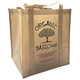 Promotional pp coated custom printed recycled eco tnt grocery non woven bag