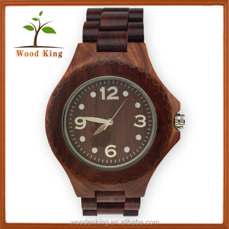 The Factory Wholesale Men And Women Woodiness Quartz Watch Fashion Wooden Fcustom Logo Watch Dial