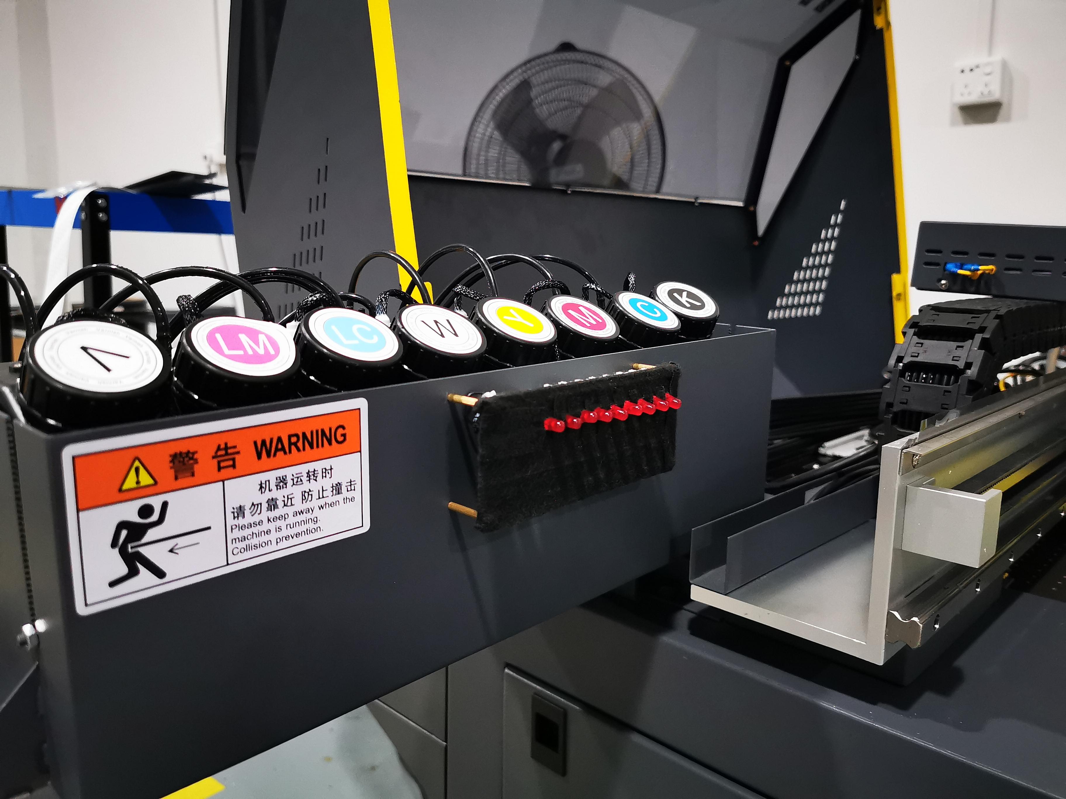 Tam otomatik A2 uv flatbed yazıcı pvc kimlik kartı için kalem telefon kılıfı cam metal seramik plastik