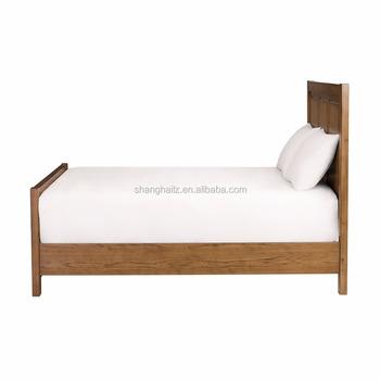 Solid Wood Bed Queen Bed Frame Solid Wooden Platform Bed - Buy Solid ...