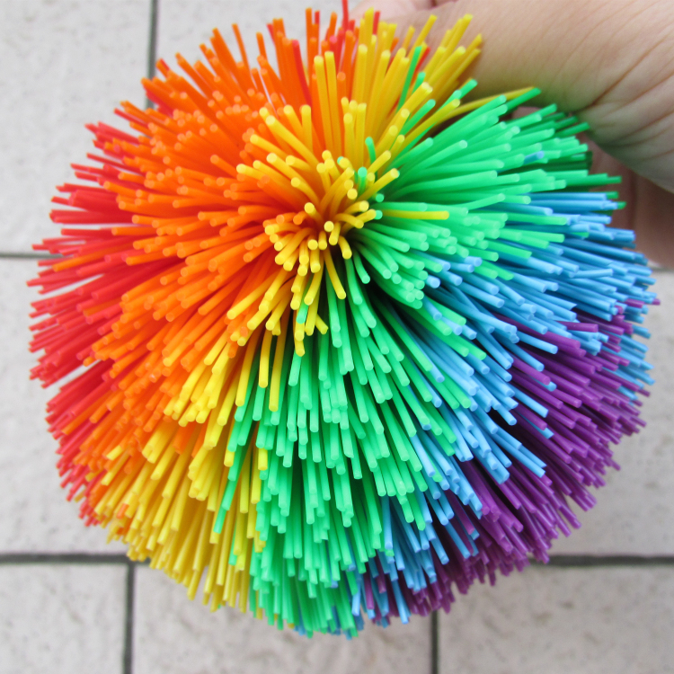 Hot selling original 2cm-10cm silicone koosh balls, rubber balls, toy balls