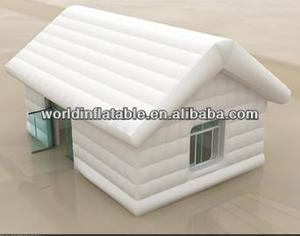 white house western style inflatable tent for living