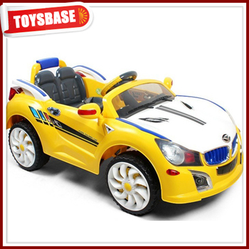huada hengtai electric rechargeable remote control baby and kids battery operated car wholesale ride on toys