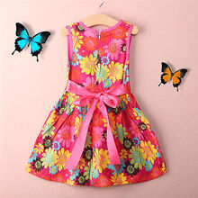 Toddler Kids Girls Summer Princess dress Floral Lace Pierced Party Dresses UK T